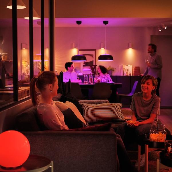 TRÅDFRI LED-es izzó GU10 345 lumen, vezeték nélküli szabályozó színes és fehér spektrum