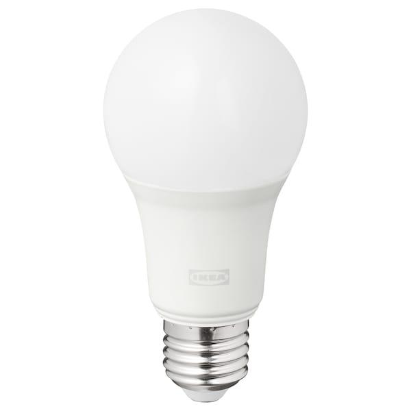 TRÅDFRI LED izzó E27 806 lumen, vezeték nélküli szabályozó színes és fehér spektrum/gömb opálfeh