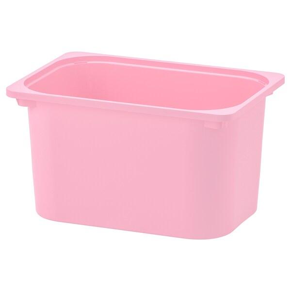 TROFAST Tárolódoboz, rózsaszín, 42x30x23 cm