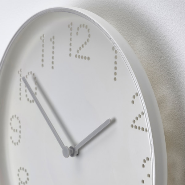 TROMMA Falióra, fehér, 25 cm