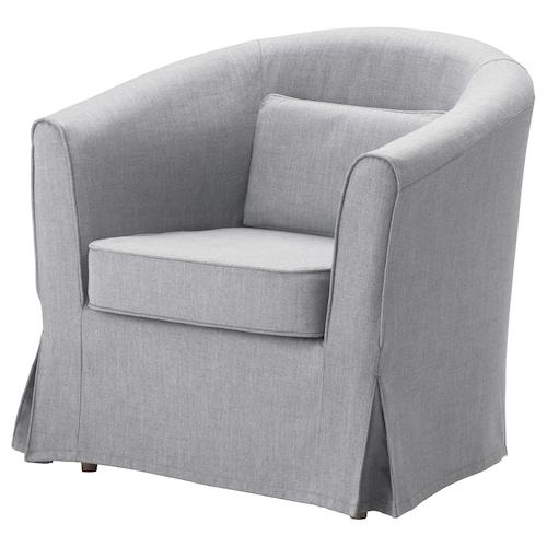 TULLSTA fotel Nordvalla középszürke 79 cm 70 cm 78 cm 55 cm 55 cm 45 cm