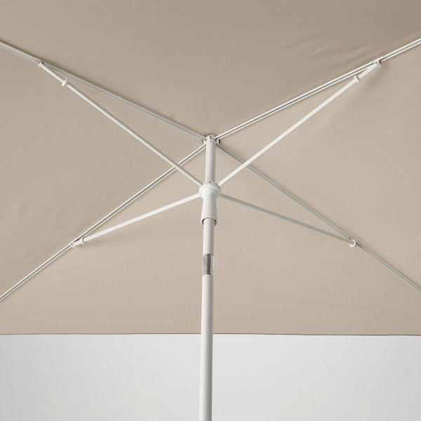TVETÖ Napernyő, dönthető/szürke-bézs fehér, 180x145 cm
