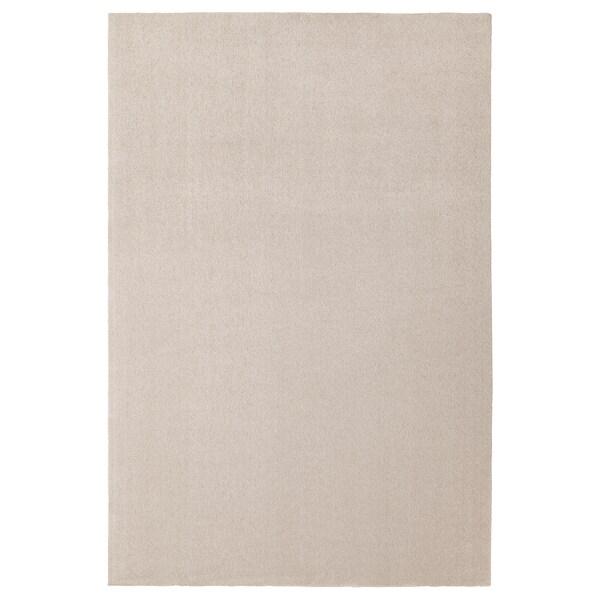 TYVELSE Szőnyeg, rövid szálú, törtfehér, 200x300 cm