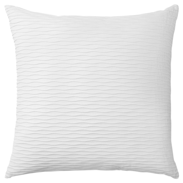 VÄNDEROT Díszpárna, fehér, 50x50 cm