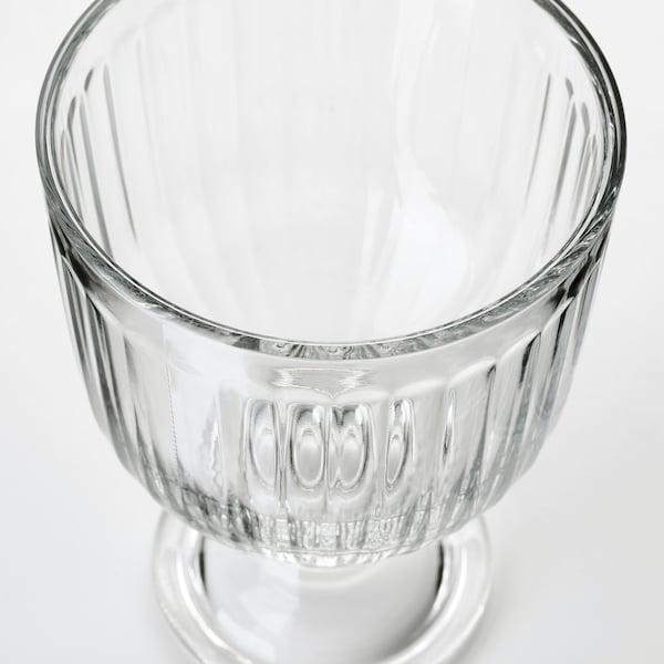 VARDAGEN talpas pohár átlátszó üveg 12 cm 28 cl 4 darabos
