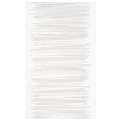 VATTENAX Lapfüggöny, fehér/fehér, 60x300 cm