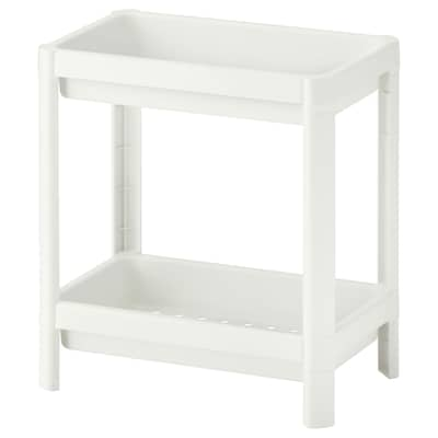 VESKEN Polcos elem, fehér, 36x23x40 cm