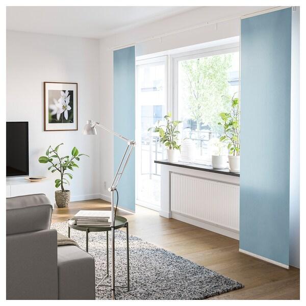 VIDGA Függöny szett, falra szerelhető/fehér