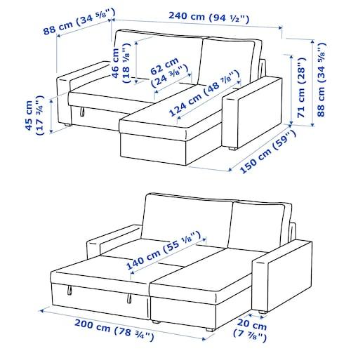 VILASUND Knyht knp karfával, Hillared bézs IKEA
