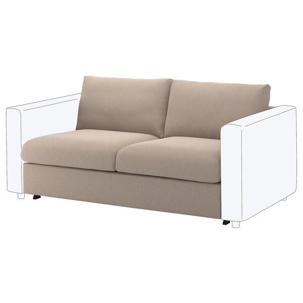 VIMLE Takaróelem 2sz nyit. végű kanapéhoz, Tallmyra bézs