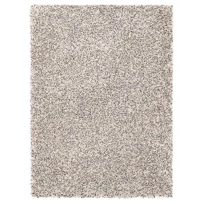 VINDUM Szőnyeg, hosszú szálú, fehér, 133x180 cm