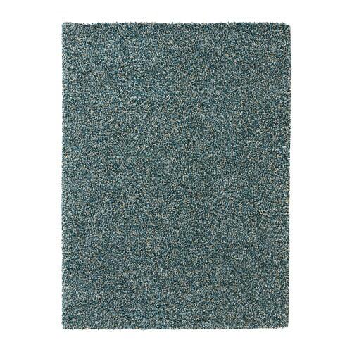 VINDUM Szőnyeg, hosszú szálú, kék kék-zöld kék-zöld 170x230 cm