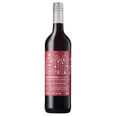 VINTERSAGA Forralt vörösbor, 12%