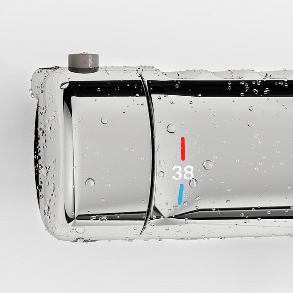 VOXNAN Termosztátos kád/zuhany csaptelep, krómozott, 150 mm