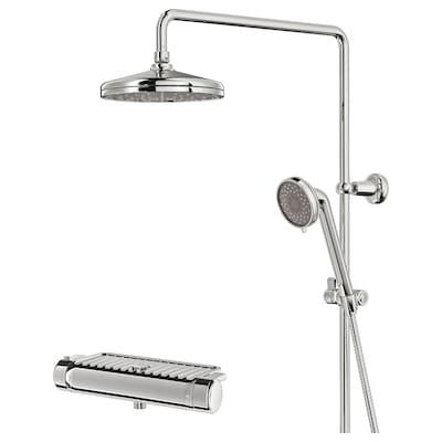 VOXNAN Zuhanyrendsz+termosztátos csaptelep, krómozott