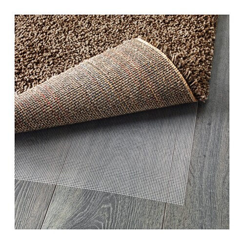 dum rug high pile light brown 133x195 cm ikea. Black Bedroom Furniture Sets. Home Design Ideas