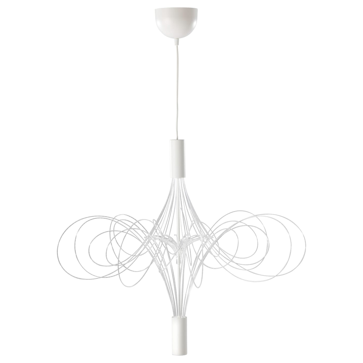 Lvsbyn led chandelier white ikea ikea lvsbyn led chandelier mozeypictures Image collections