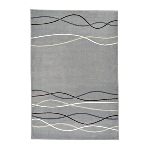 IKEA ÖLHOLM rug, low pile The thick pile dampens sound and provides a soft surface to walk on.