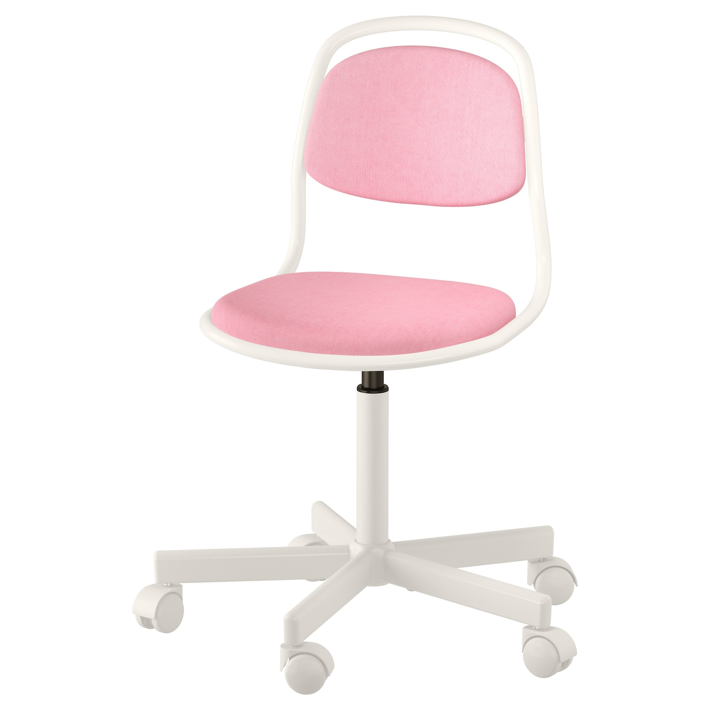 214 Rfj 196 Ll Children S Desk Chair White Vissle Pink Ikea