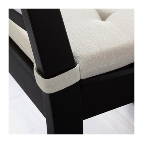 IKEA ADMETE chair pad Polyurethane foam provides great comfort and long-lasting support.