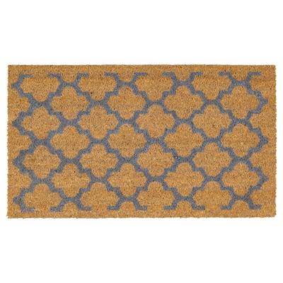 ÄBELNÄS Door mat, natural, 60x90 cm