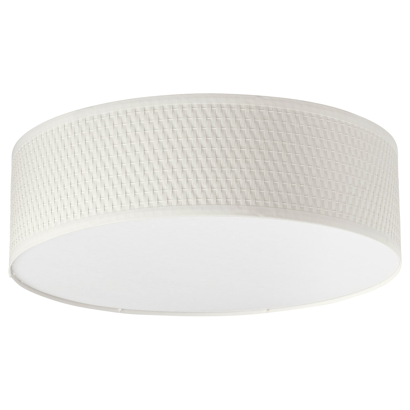 IKEA ALÄNG ceiling lamp Diffused light that provides good general light in the room.