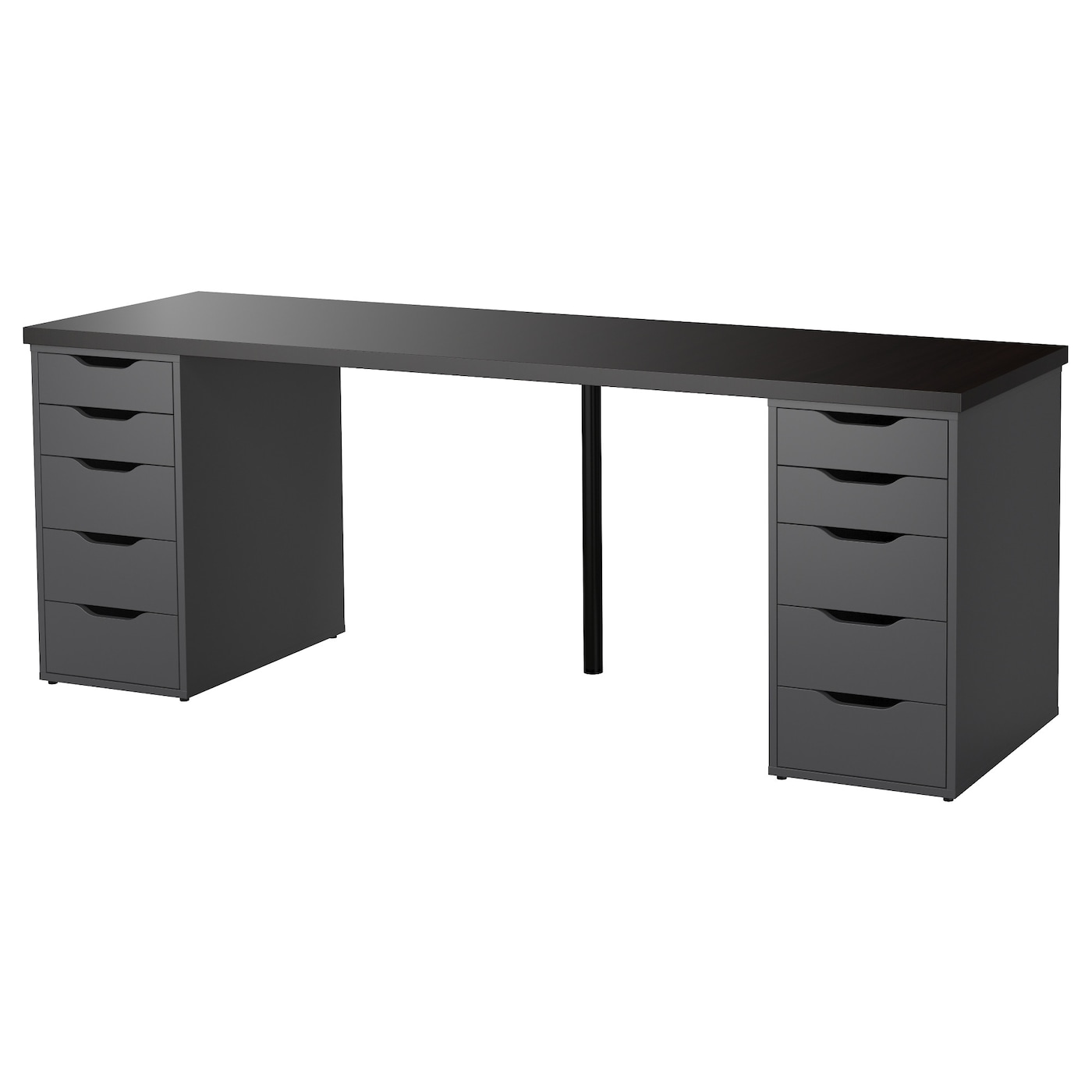home office work table. IKEA ALEX/LINNMON Table Can Be Placed In The Middle Of A Room Because Home Office Work E