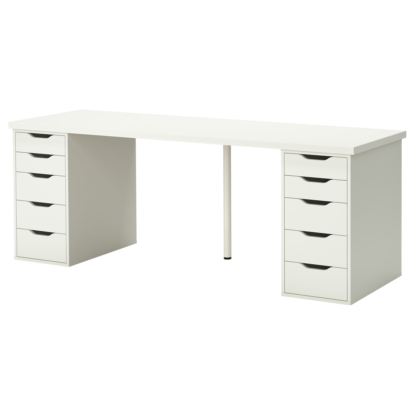 Marvelous IKEA ALEX/LINNMON Table A Long Table Top Makes It Easy To Create A Workspace