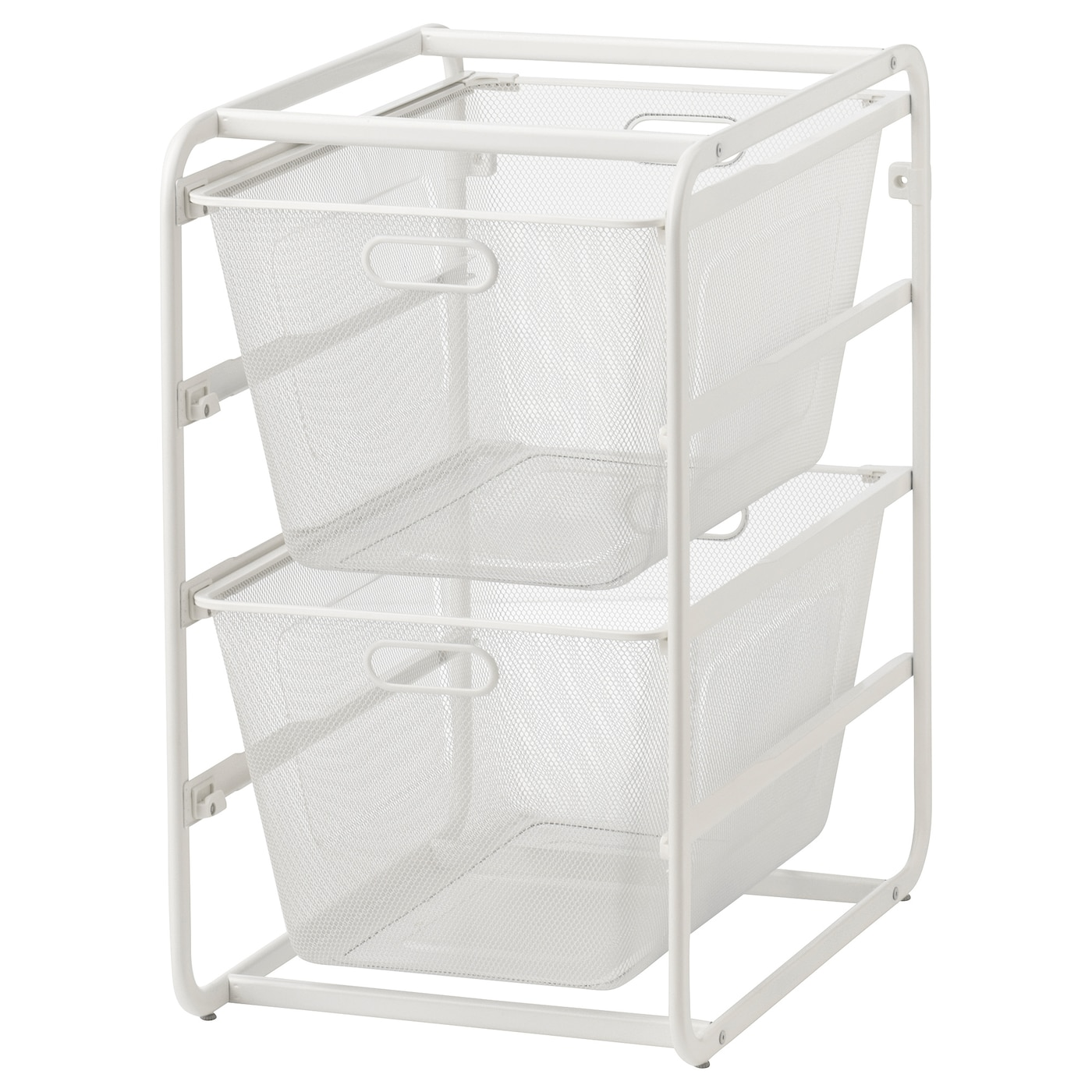 IKEA ALGOT frame with mesh baskets Can also be used in bathrooms and other damp areas indoors.
