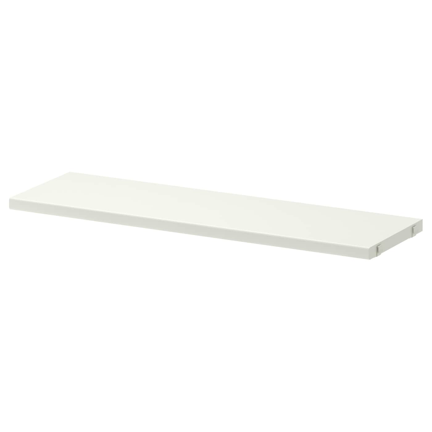 IKEA ALGOT shelf Just click in on ALGOT brackets – no tools needed.