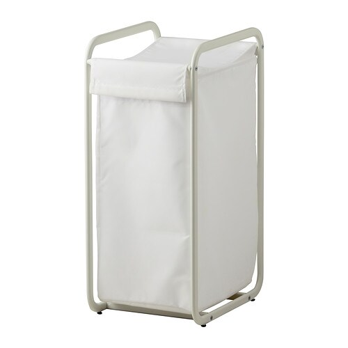 IKEA ALGOT storage bag with stand The frame is easier to move if you complement with ALGOT castors.
