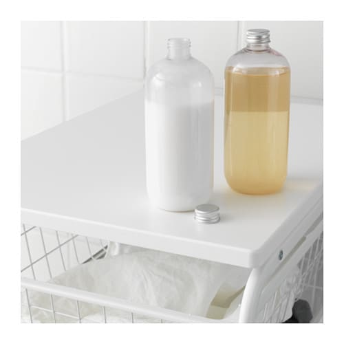 IKEA ALGOT top shelf for frame The surface is hardwearing, stain resistant and easy to keep clean.