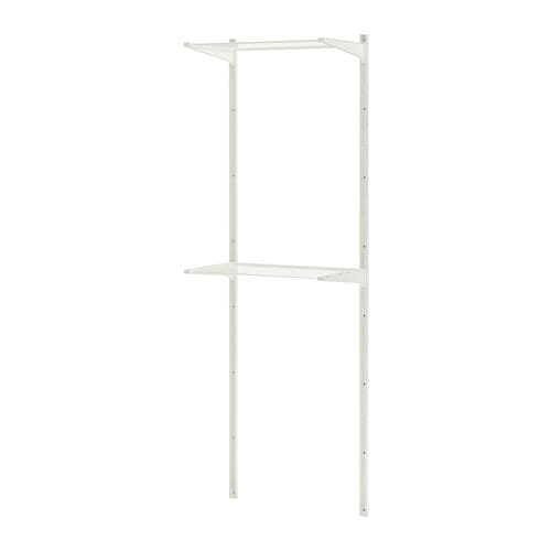 IKEA ALGOT wall upright/drying rack Can also be used in bathrooms and other damp areas indoors.