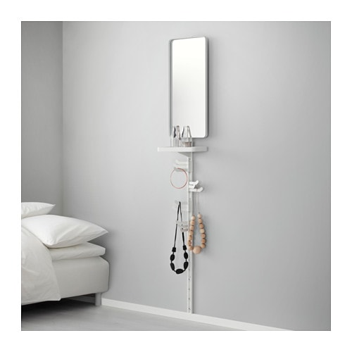 IKEA ALGOT wall upright/mirror/triple hook