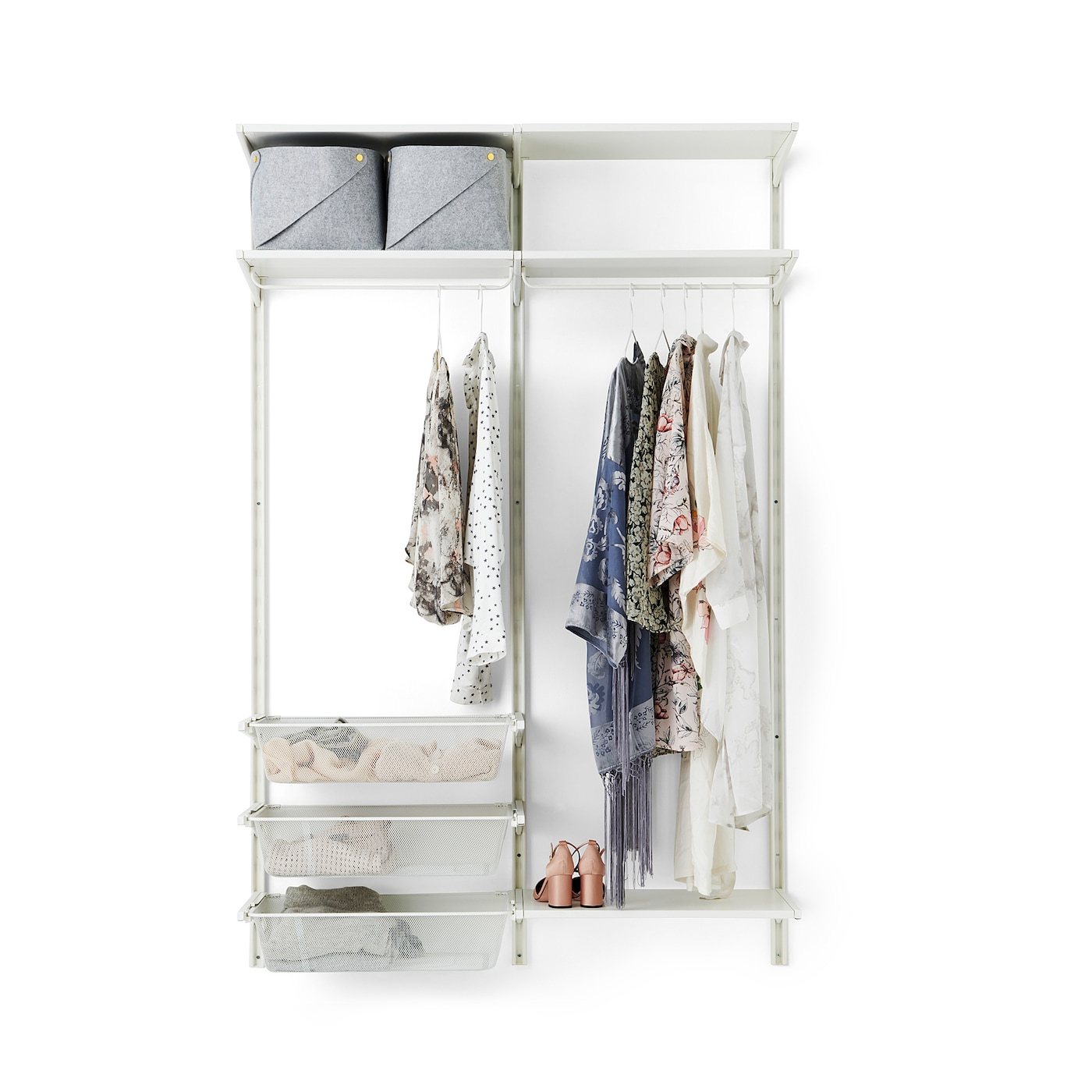 Ikea Algot Wall Uprightshelvesrod Can Also Be Used In Bathrooms