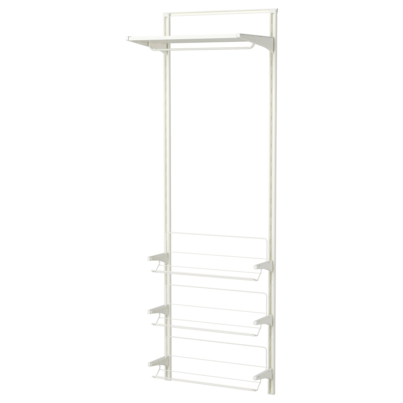 IKEA ALGOT wall upright/shelves/shoe organiser