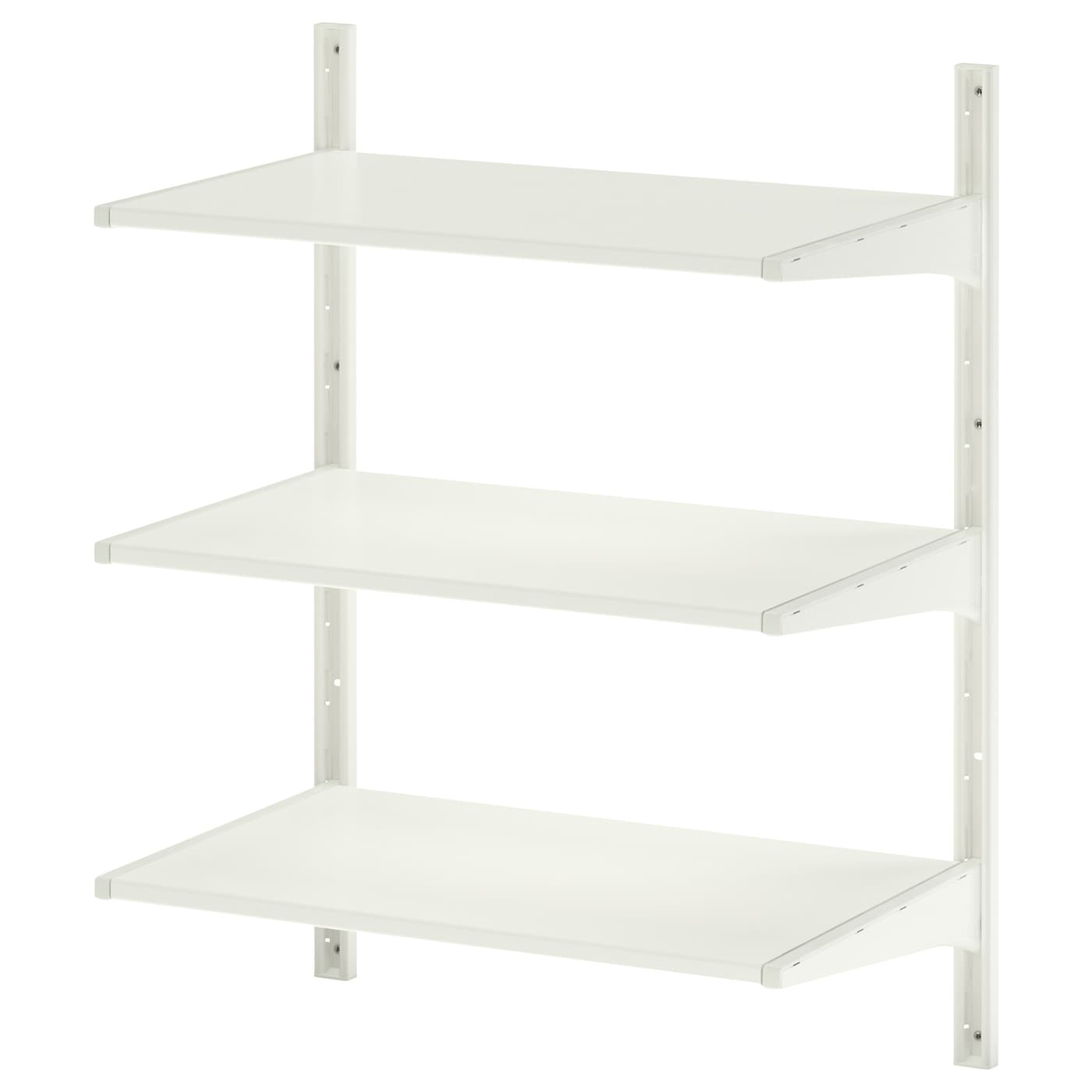 algot wall upright shelves white 65 x 40 x 84 cm ikea. Black Bedroom Furniture Sets. Home Design Ideas