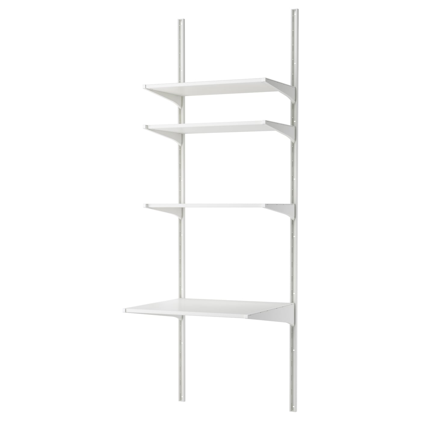 IKEA ALGOT wall upright/shelves Can also be used in bathrooms and other damp areas indoors.