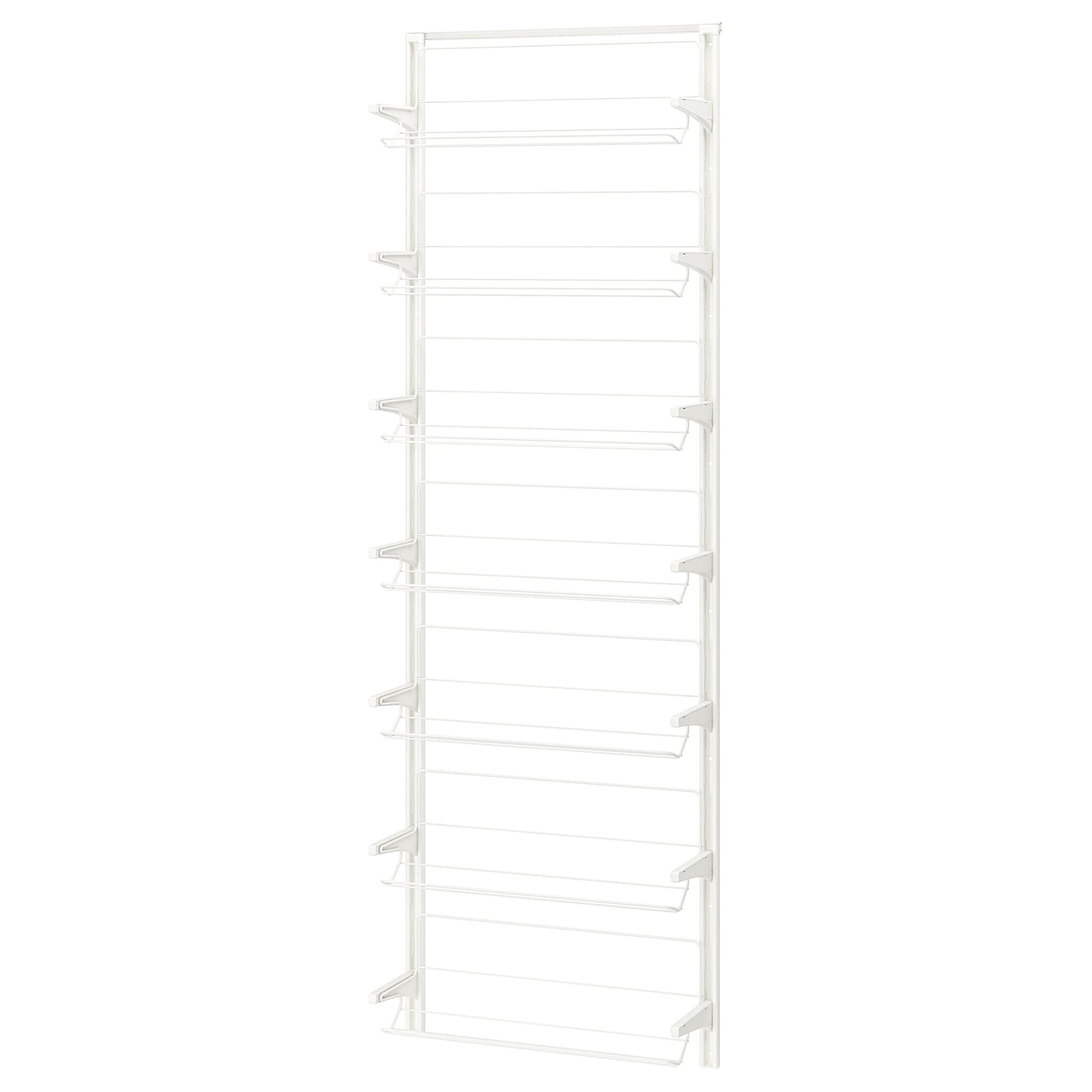 IKEA ALGOT wall upright/shoe organiser Can also be used in bathrooms and other damp areas indoors.