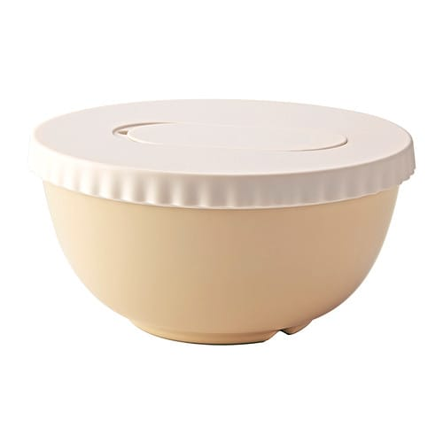 IKEA ALLEHANDA mixing bowl with lid The lid is included so the bowl can also be used for storage.