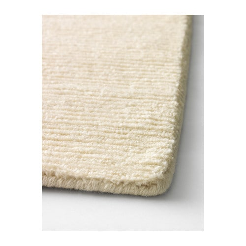 almsted rug low pile handmade off white 170x240 cm ikea. Black Bedroom Furniture Sets. Home Design Ideas