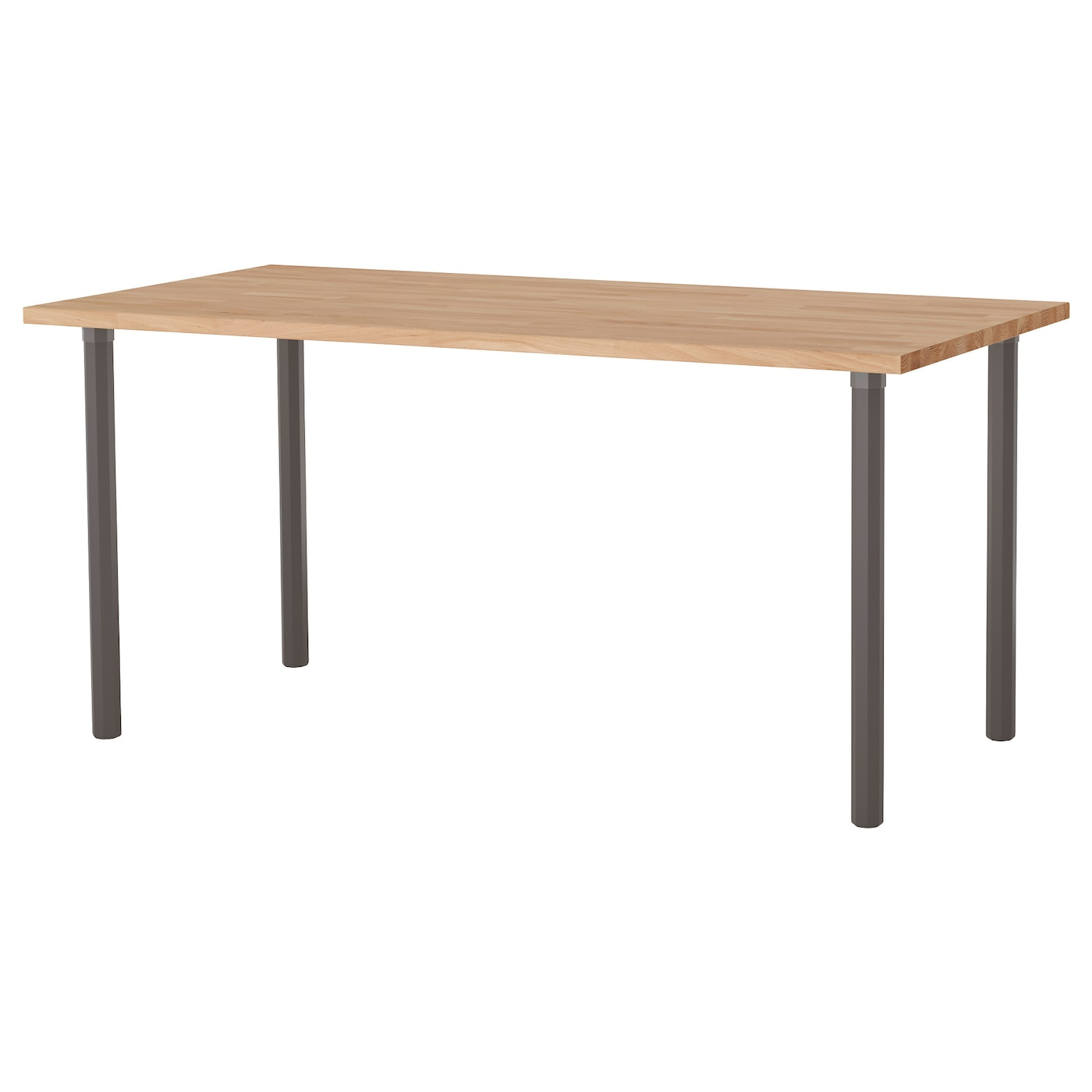 alvaret gerton table beech grey 155x75 cm ikea