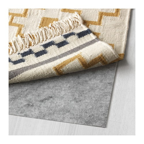 alvine ruta rug flatwoven handmade white yellow 170x240 cm ikea. Black Bedroom Furniture Sets. Home Design Ideas