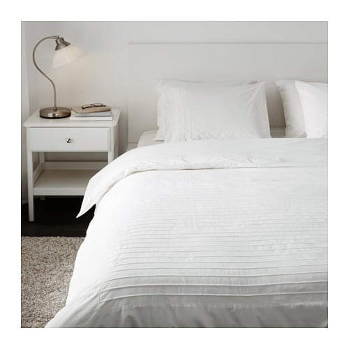 alvine str quilt cover and 4 pillowcases white 240x220 50x80 cm ikea. Black Bedroom Furniture Sets. Home Design Ideas
