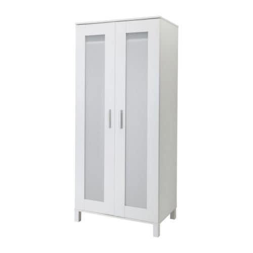 Elegant IKEA ANEBODA Wardrobe Adjustable Hinges Ensure That The Doors Hang Straight.