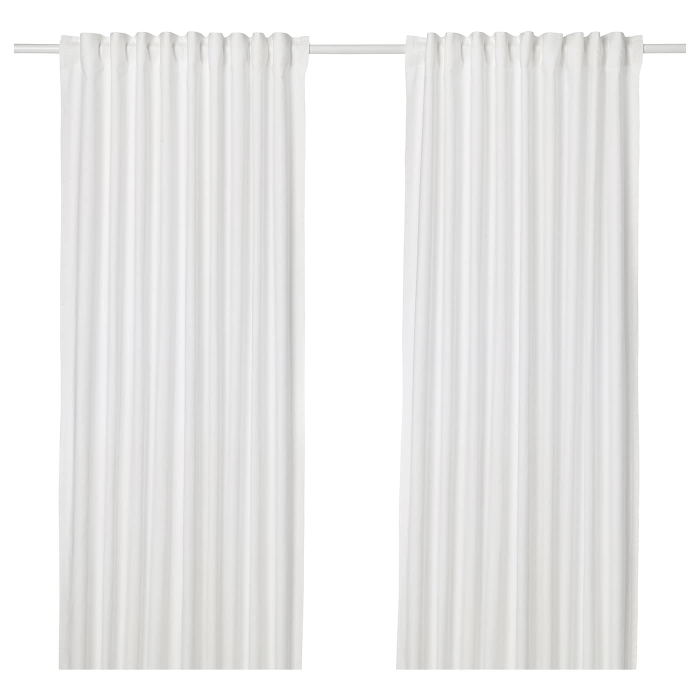 Ikea Annalouisa Curtains 1 Pair The Can Be Used On A Curtain Rod Or