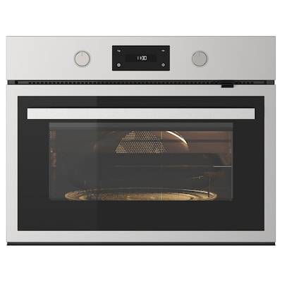 ANRÄTTA Microwave combi with forced air, stainless steel
