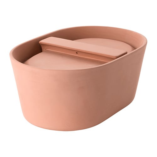 IKEA ANVÄNDBAR clay pot Little or no fat or oil needed when cooking.