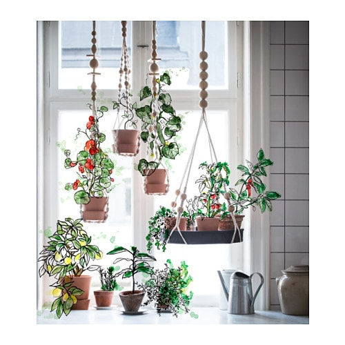Anv Ndbar Net For Plant Pot Hanging Natural Ikea