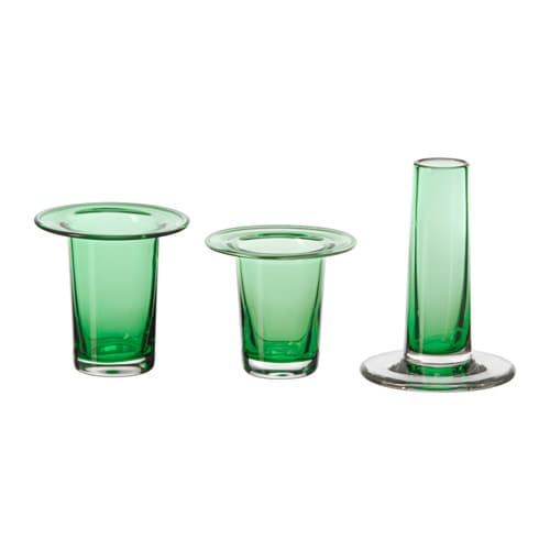 IKEA ANVÄNDBAR vase for cuttings, set of 3